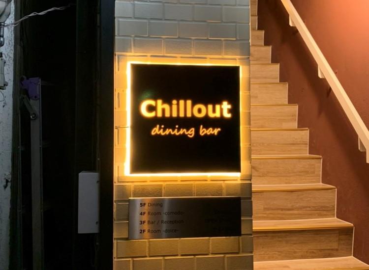 chillout LEDバックライトBOXサイン
